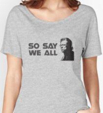 Admiral Adama Women's Relaxed Fit T-Shirt