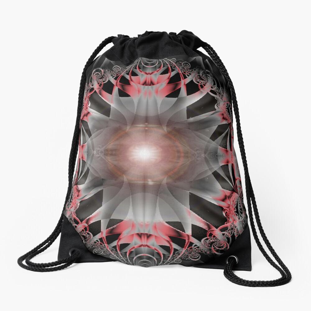 Black Stones Drawstring Bag