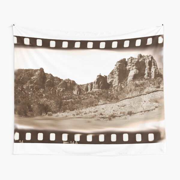 Beautiful State of Arizona Filmstrip Theme Tapestry