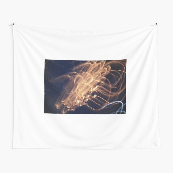 Abstract Fireworks Tapestry