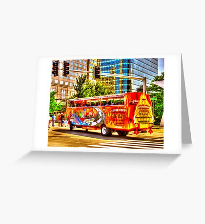 Super Duck Tours Greeting Card