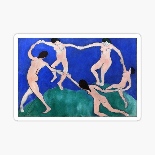 Danse (I) (Dance 1), Henri Matisse, 1910 Artwork Design, Poster Tshirt, Tee, Jersey, Postcard Sticker