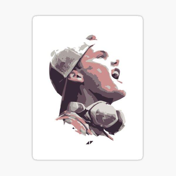 Avicii - Painted Image Sticker
