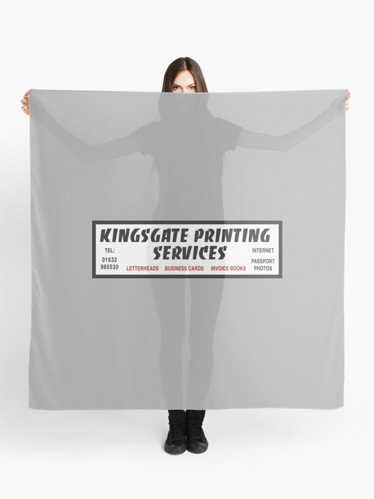 Kingsgate Printing Services | Scarf