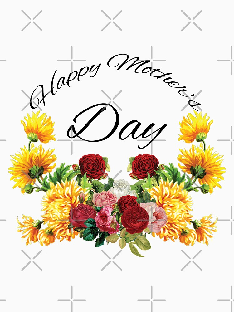 Happy Mothers Day Flowers by tribbledesign