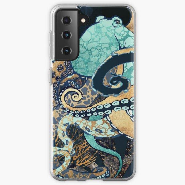 Metallic Octopus II Samsung Galaxy Soft Case