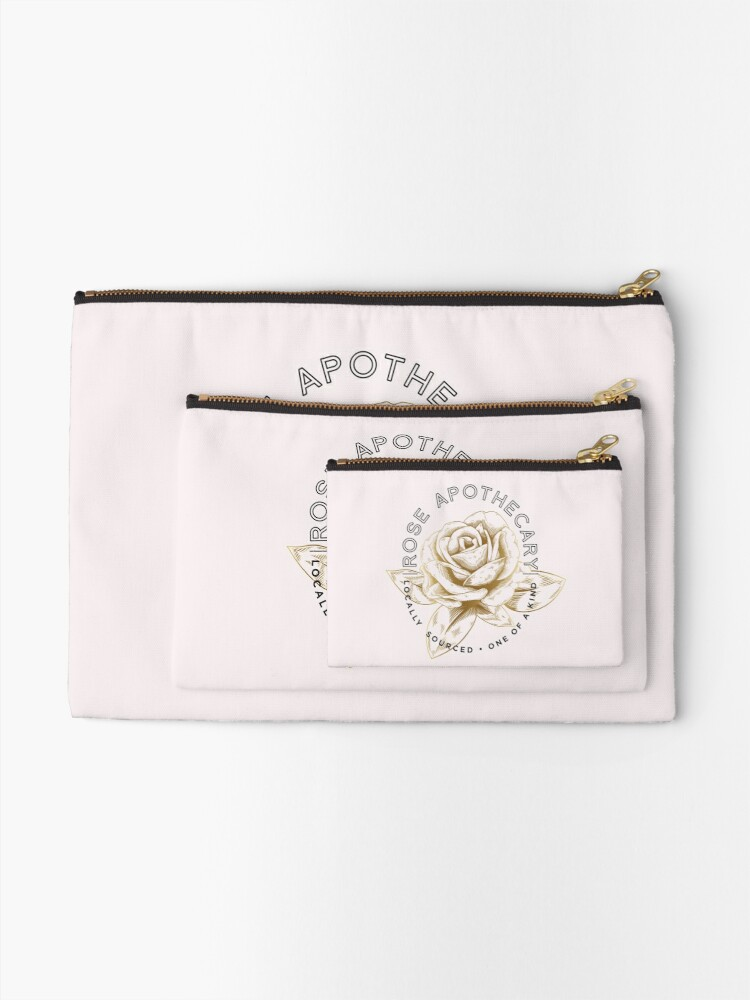 Alternate view of Rose Apothecary Zipper Pouch