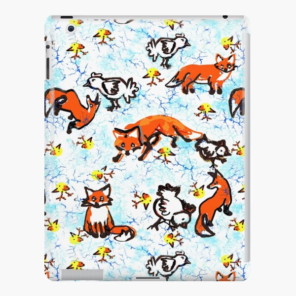 Fox and Chickens  iPad Snap Case