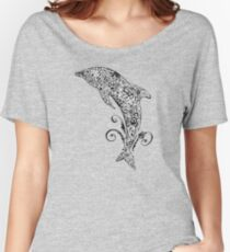 Dolphin Doodle Women's Relaxed Fit T-Shirt