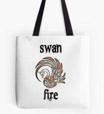 Swan Fire Merchandise Tote Bag