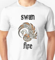 Swan Fire Merchandise Unisex T-Shirt