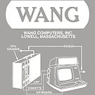 Wang Computers Logo - White by philarego