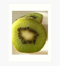 Hairy green and delicous Art Print