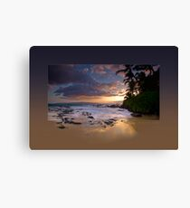 Makena Gold Canvas Print