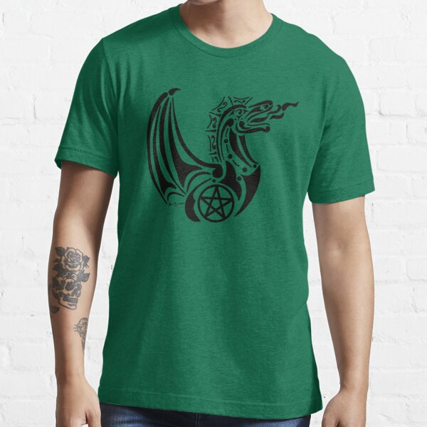Pentacle Dragon 2 Essential T-Shirt
