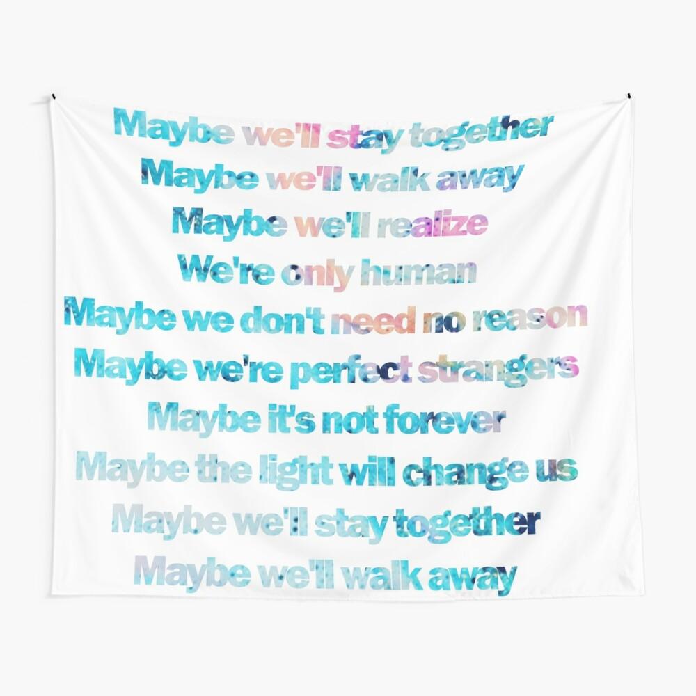 Jonas Blue feat. JP Cooper   Perfect Strangers lyrics