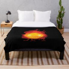 Fire Demon Throw Blanket