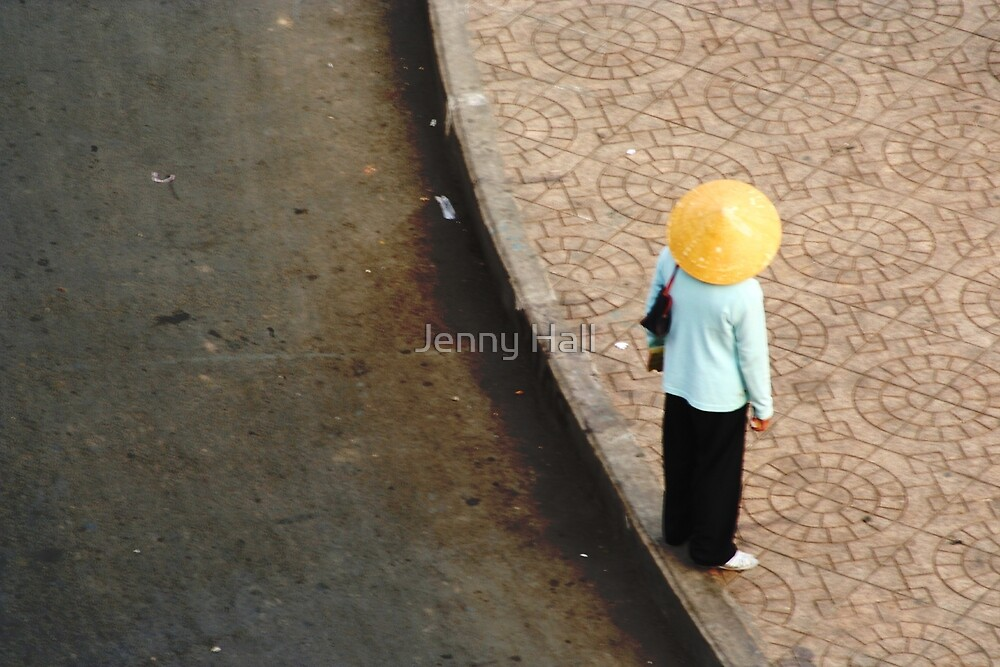 The edge by Jenny Hall