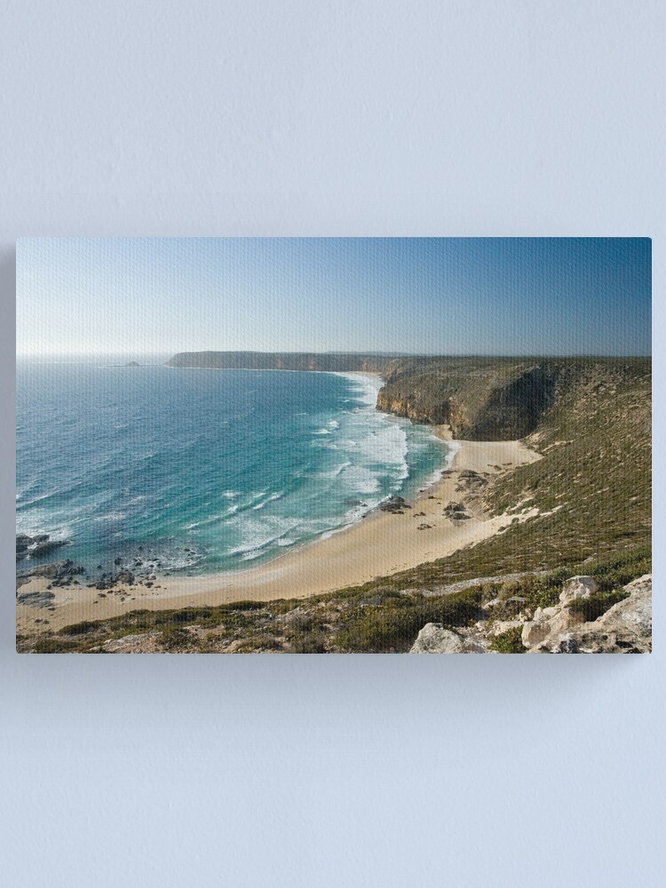 Alternate view of View from Cape Spencer Lighthouse. Canvas Print