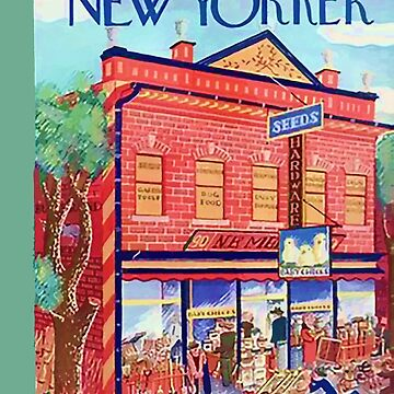 Vintage New Yorker Cover - Circa 1935-3 by marlenewatson