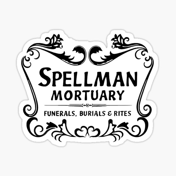 Spellman Mortuary Sticker