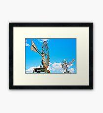 Wacky Windmills.... Framed Print