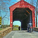 Loys Station Covered Bridge by James Brotherton