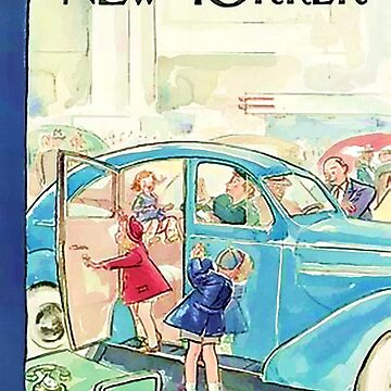 Vintage New Yorker Cover - Circa 1939 by marlenewatson