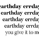 Earthday errday. by missamberw