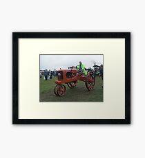 Old Tractor Allis Chalmers Framed Print