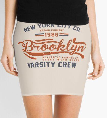 Vintage New York Brooklyn 1986 Mini Skirt