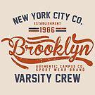 Vintage New York Brooklyn 1986 by Chocodole