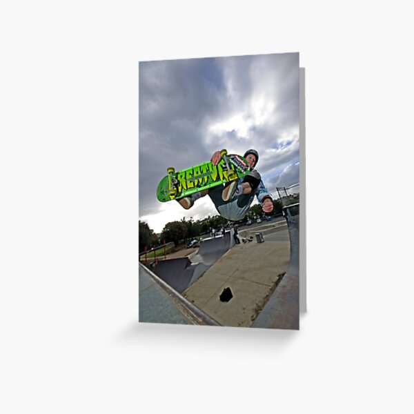Front side air Greeting Card