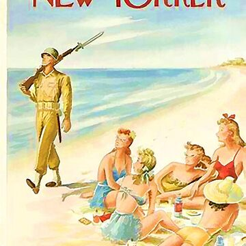 Vintage New Yorker Cover - Circa 1943 by marlenewatson