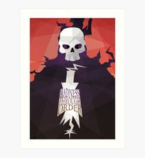 Madness Through Order - Soul Eater Print Art Print