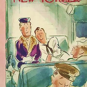 Vintage New Yorker Cover - Circa 1944 by marlenewatson