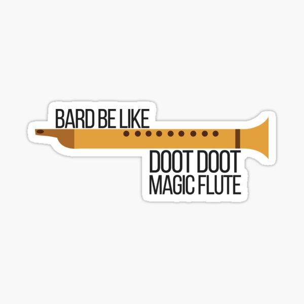 Doot Doot Magic Flute Sticker