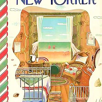 Vintage New Yorker Cover - Circa 1944-2 by marlenewatson