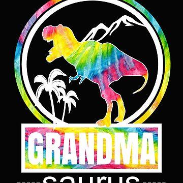 Grandmasaurus Design Mothers Day Gifts Grandma Saurus by kimmicsts