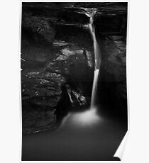 Runswick Waterfall Poster