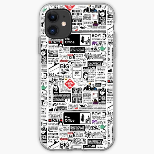 Wise Words From The Office - The Office Quotes (Variant) iPhone Soft Case