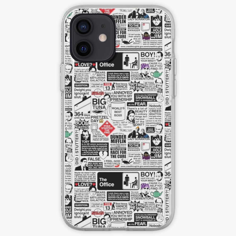 Wise Words From The Office - The Office Quotes (Variant) iPhone Case & Cover