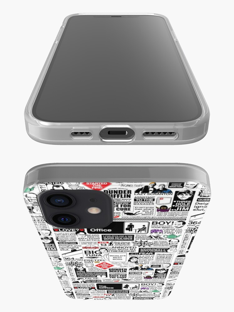 Alternate view of Wise Words From The Office - The Office Quotes (Variant) iPhone Case & Cover