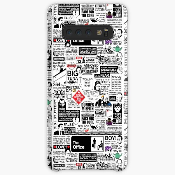 Wise Words From The Office - The Office Quotes (Variant) Samsung Galaxy Snap Case
