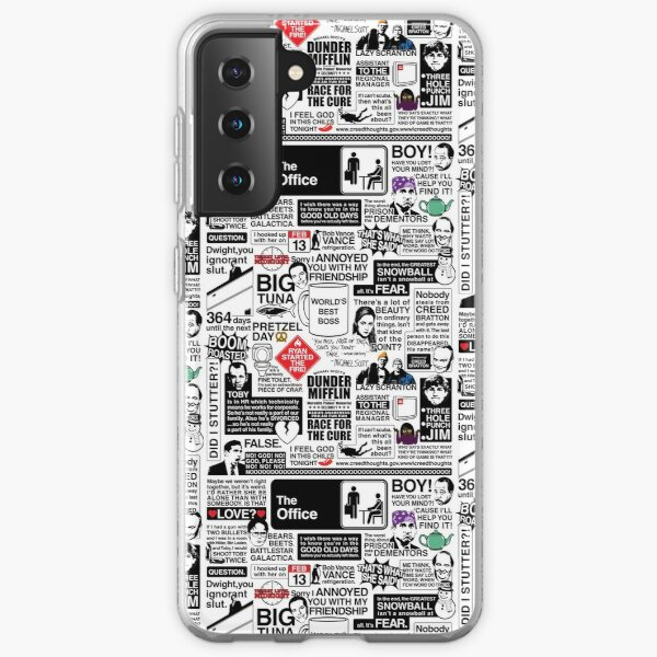 Wise Words From The Office - The Office Quotes (Variant) Samsung Galaxy Soft Case