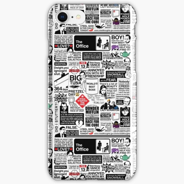 Wise Words From The Office - The Office Quotes (Variant) iPhone Snap Case
