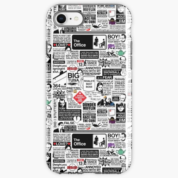 Wise Words From The Office - The Office Quotes (Variant) iPhone Tough Case