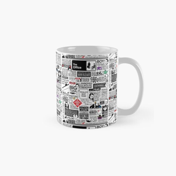 Wise Words From The Office - The Office Quotes (Variant) Classic Mug