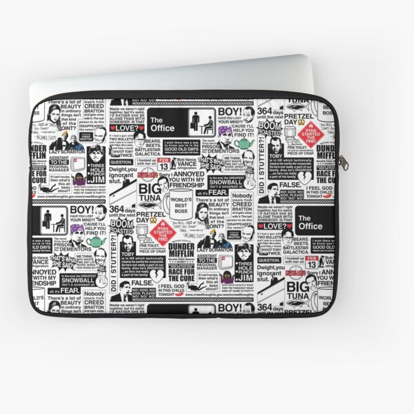 Wise Words From The Office - The Office Quotes (Variant) Laptop Sleeve