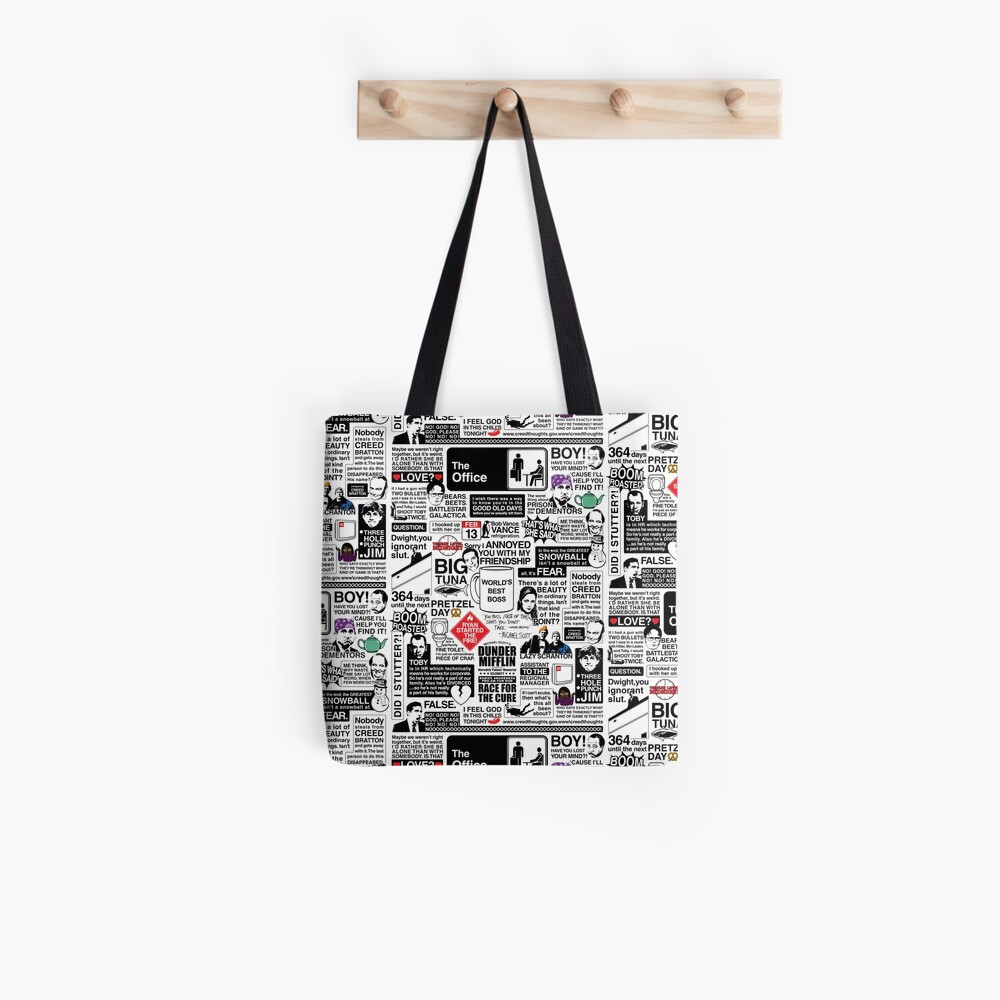 Wise Words From The Office - The Office Quotes (Variant) Tote Bag